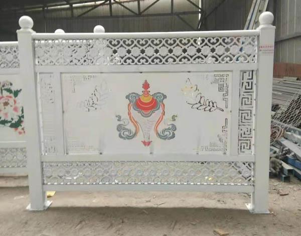 青海本地特色的铁艺护栏